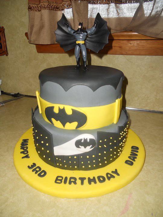 Gateau Batman Cake