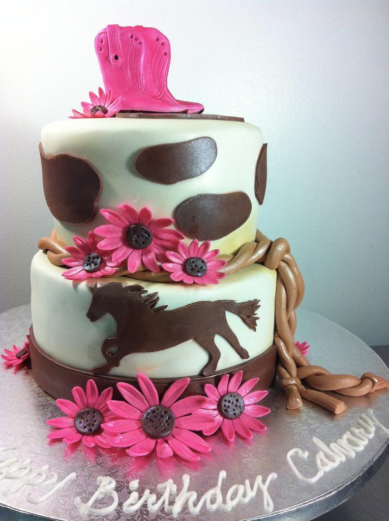Cowgirl Cake Www Cakesbygaby Com Gaby Triana Flickr
