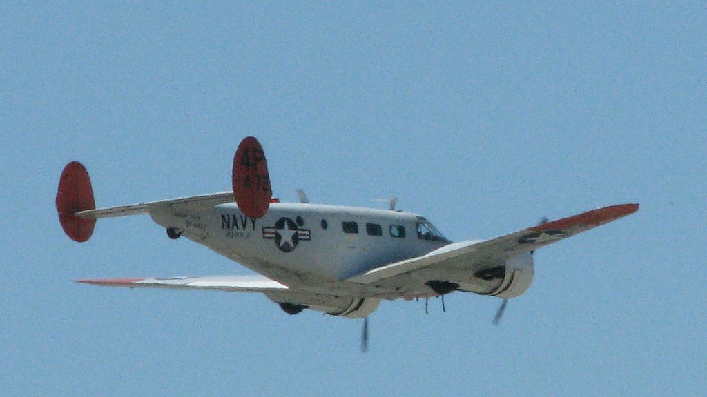 Beechcraft C 45h Expeditor N181mh Photograhed At The