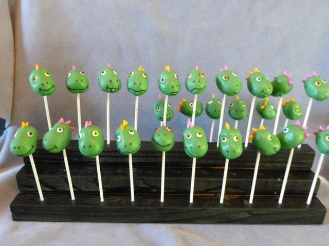Dinosaur Cake Pop Molds