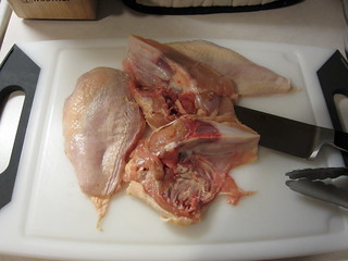 deboning chicken breasts | by Madison Bistro