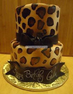 Godiva Leopard Cake | by Apple-Butter Bakery
