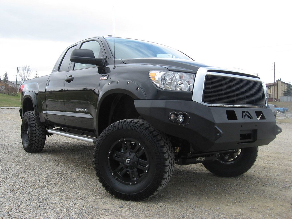 Toyota Tundra Front And Rear Fab Fours Bumpers Mht