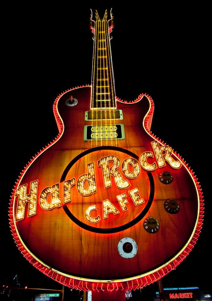 Hard Rock Cafe Vegas Map