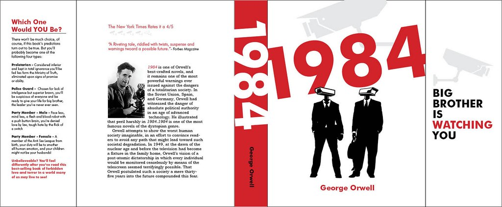 1984 dust jacket 1984 dust jacket from my book re image pr