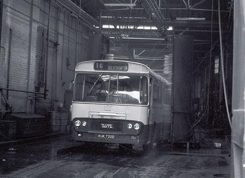 Kuk720d bus wash 1975 thursday 15th may 1975 bilston s flickr - Ford garage wolverhampton ...