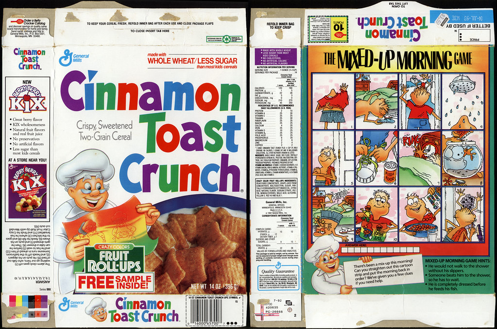 cinnamon toast crunch box - photo #20