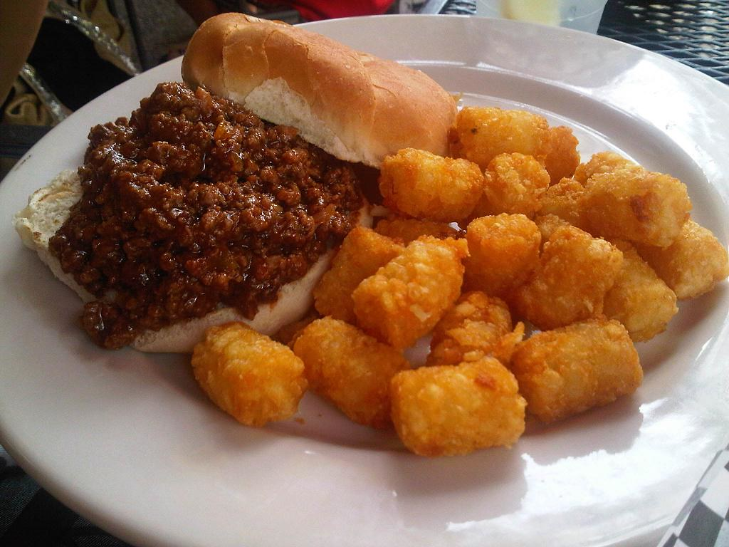 Sloppy Joe's and Tater Tots   the south in my mouth   Tater Tots And Sloppy Joes