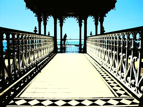 Photographer on £250,000 Brighton Bandstand | by brightondj - getting the most from a cheap compact