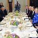 Secretary Clinton Hosts a Working Dinner With UN Secretary General Ban Ki-Moon, Russian Foreign Minister Lavrov, EU High Representative Ashton, and Quartet Representative Blair