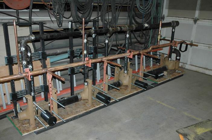 Horizontal Water Closet Fixture Support Installations 021