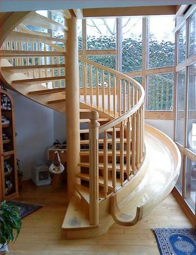 Escaleras de caracol una soluci n para espacios reducidos - Escaleras espacios reducidos ...