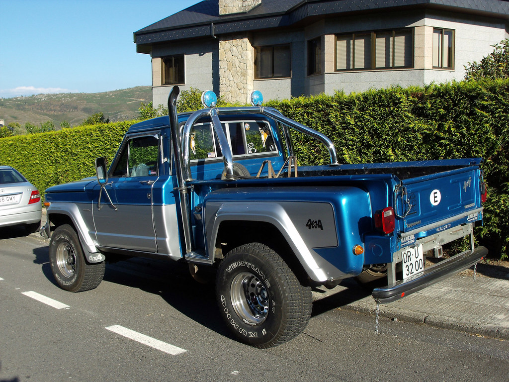 The New Jeep Truck >> 1982 Jeep Wagoneer Pickup   FiatTipoElite   Flickr