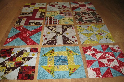 FWQA First Twelve Blocks View 2 | by maripenquilts