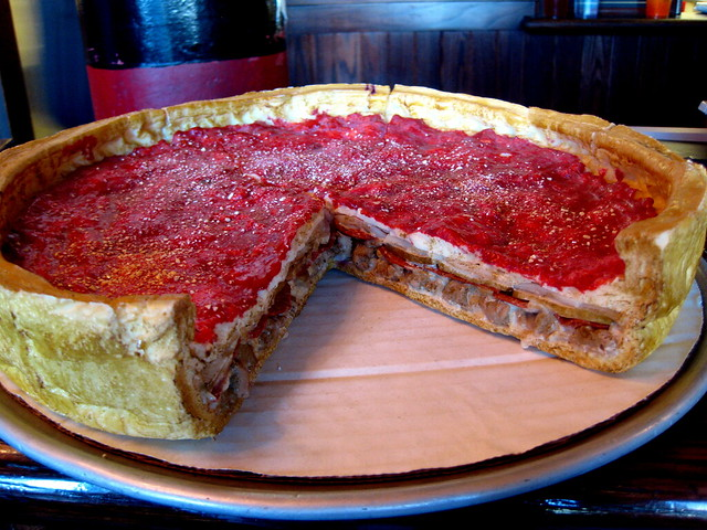 Giordanos Deep Dish Pizza   Flickr - Photo Sharing!  Giordanos Deep ...