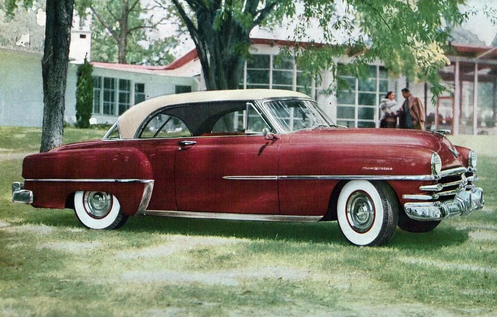 1953 Chrysler New Yorker De Luxe Newport Coconv Flickr