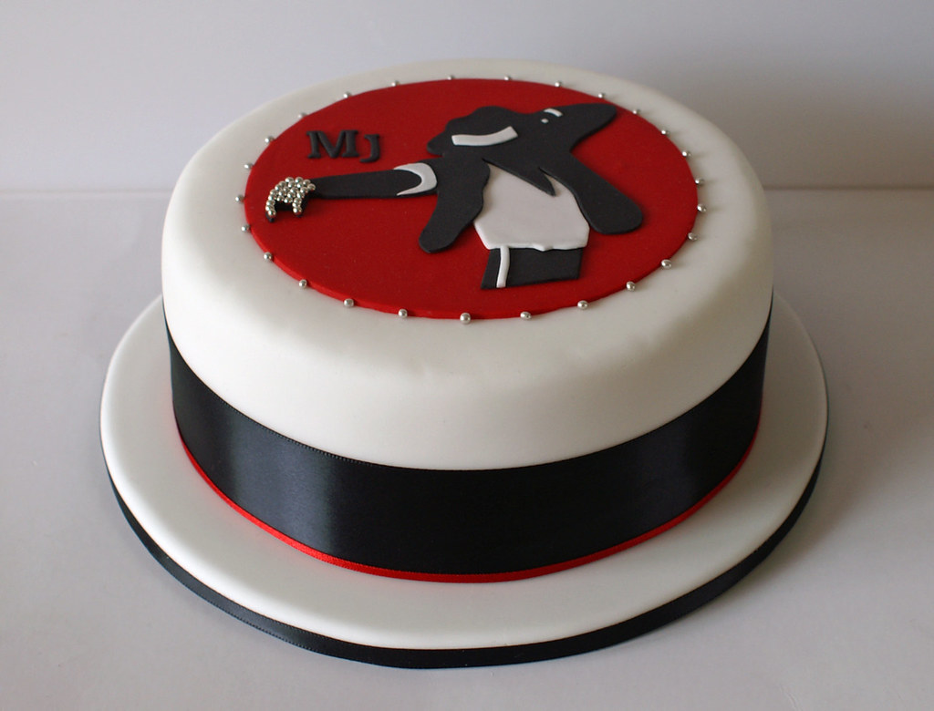 Michael Jackson Cake A 6 Inch Layered Maderia Cake With