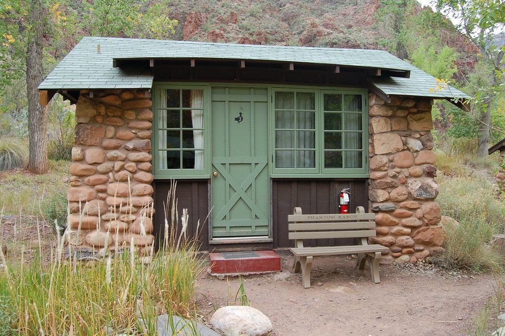Grand Canyon: Phantom Ranch Cabin 0218 | Phantom Ranch, at ...