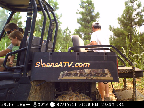Checking trail cams, caught on camera... It is a family event | by HighCottonHunting