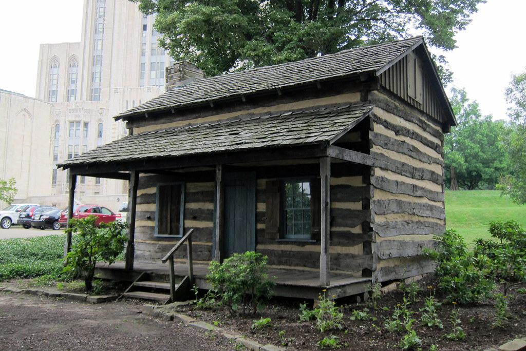 Pittsburgh Oakland University Of Pittsburgh Log Cabin