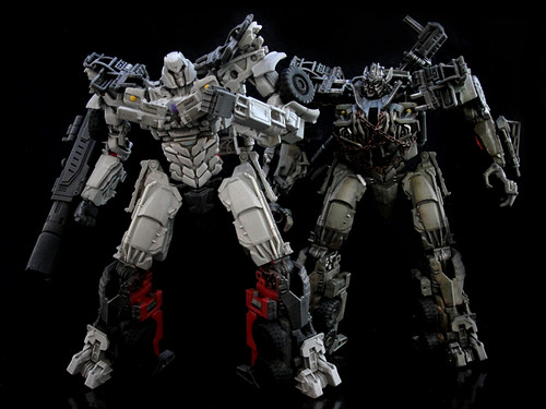 Dark Of The Moon Megatron G1 Style I Used A Wfc Head