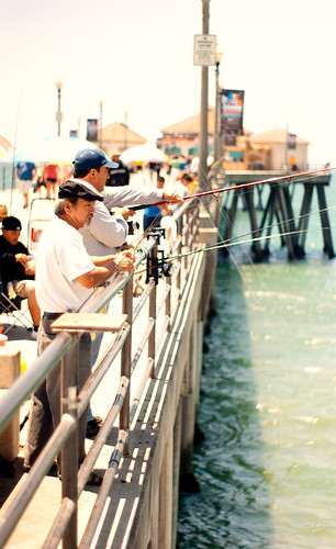 huntington beach pier fishing michael kottman flickr