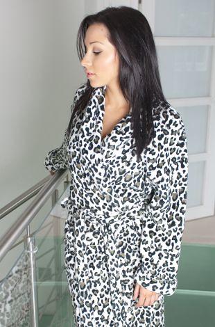 Leopard Print Womens Dressing Gown | Beautiful Womens Dressi… | Flickr