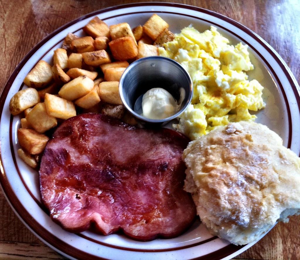 Cafe  Breakfast Menu