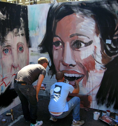Amy Winehouse - White Cross Street Party - London Arts Festival | by steeev
