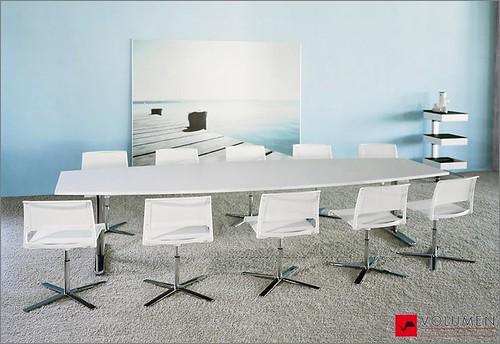 Sala de reuniones la mejor opci n en muebles de oficina for Muebles de oficina volumen