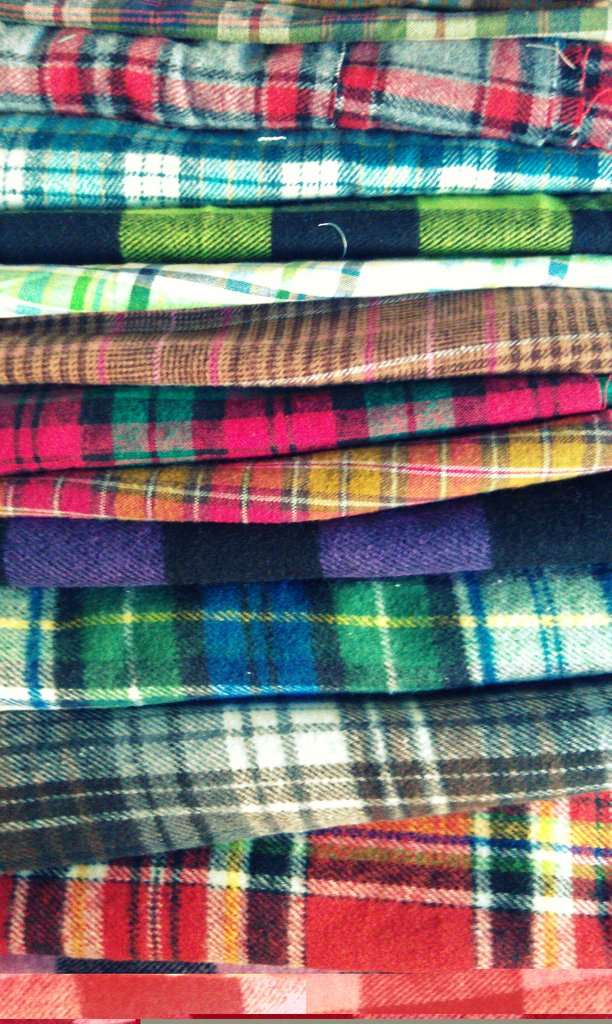 Plaid my fernweh flickr for Types of flannel shirts