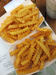 shake shack french fries | by David Lebovitz