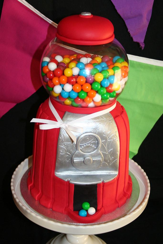 Gumball Machine Cake Pan