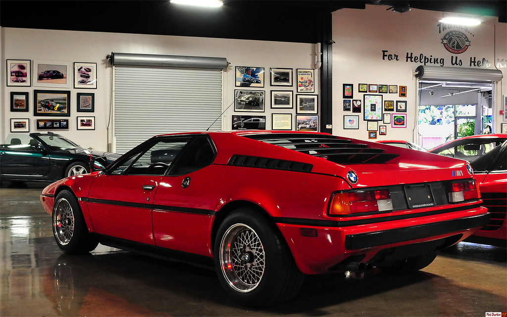 1981 BMW M1 - red - rvl | My apologies for the splotchy ...