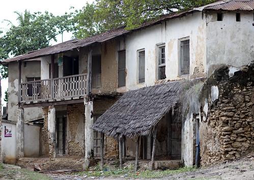 Old Colonial German House In Kilwa Kivinje Village Tanzan