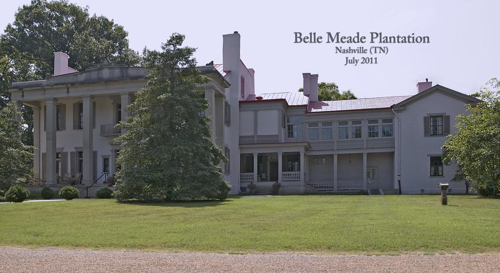 Belle meade plantation nashville tn july 2011 belle for Build on your land nashville tn