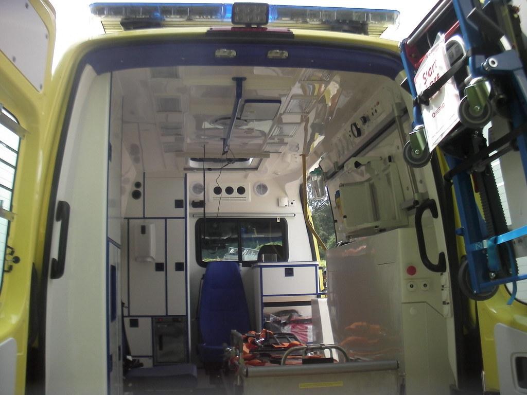 Brand New Mercedes Sprinter Ambulance Falck Inside Vie Flickr