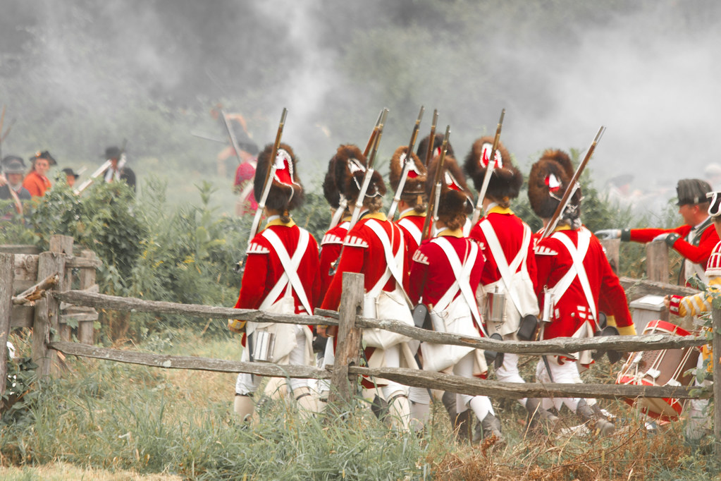 """Redcoat March   This was taken in during the """"Rebels vs. Red…   Flickr"""