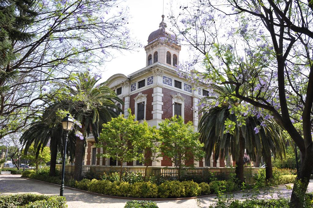 Palacete ayora jardines y palacete de ayora 1900 c for Jardin de ayora