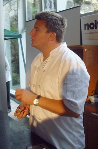 Chef Peter Sidwell at the Great Northern Cheese Festival a ...