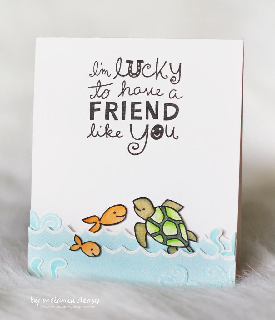 Im Lucky To Have A Friend Like You Melaniadeasyblogspot Flickr