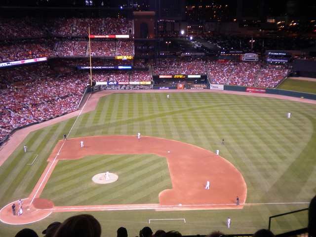 day 5   high angle at busch stadium flickr   photo sharing
