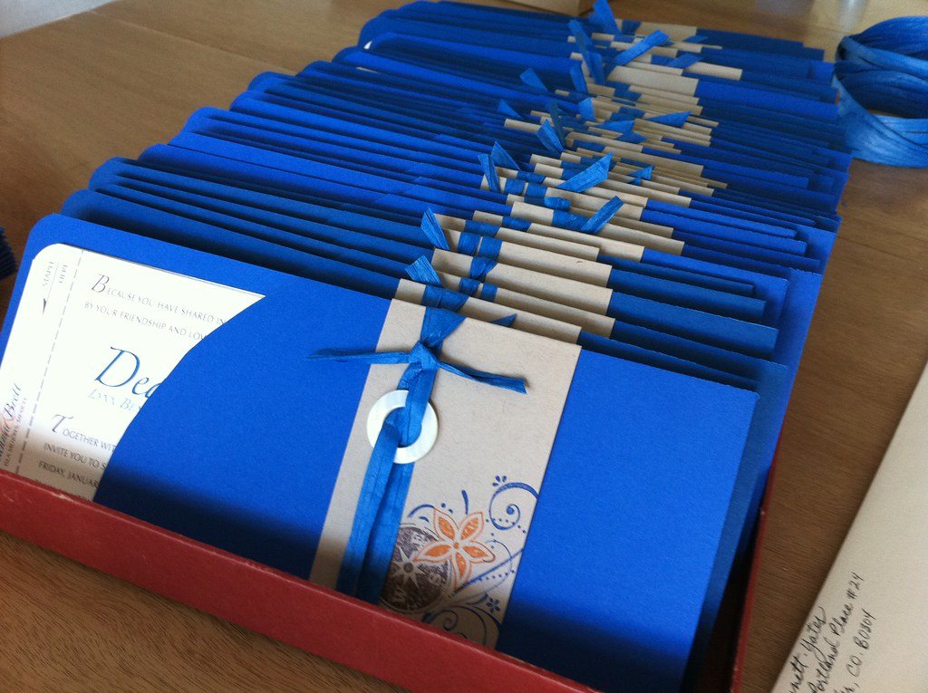 wedding invitation sleeves we designed the ticket sleeves flickr