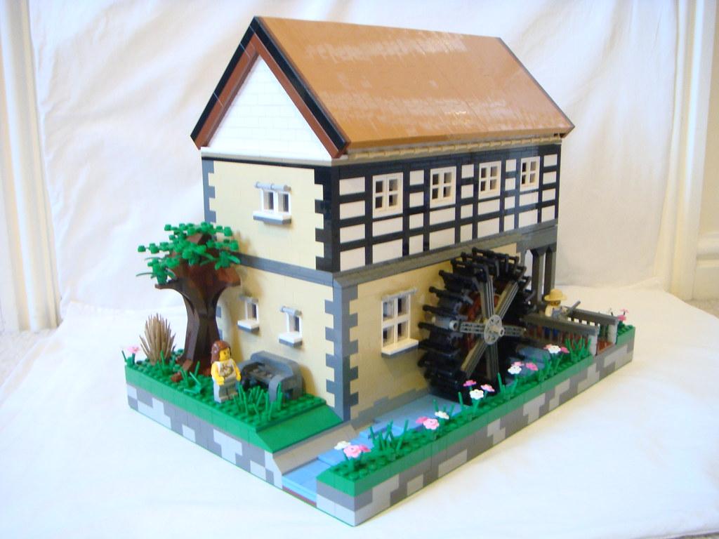 Custom Lego Water Mill Custom Lego Water Mill I Ve Based
