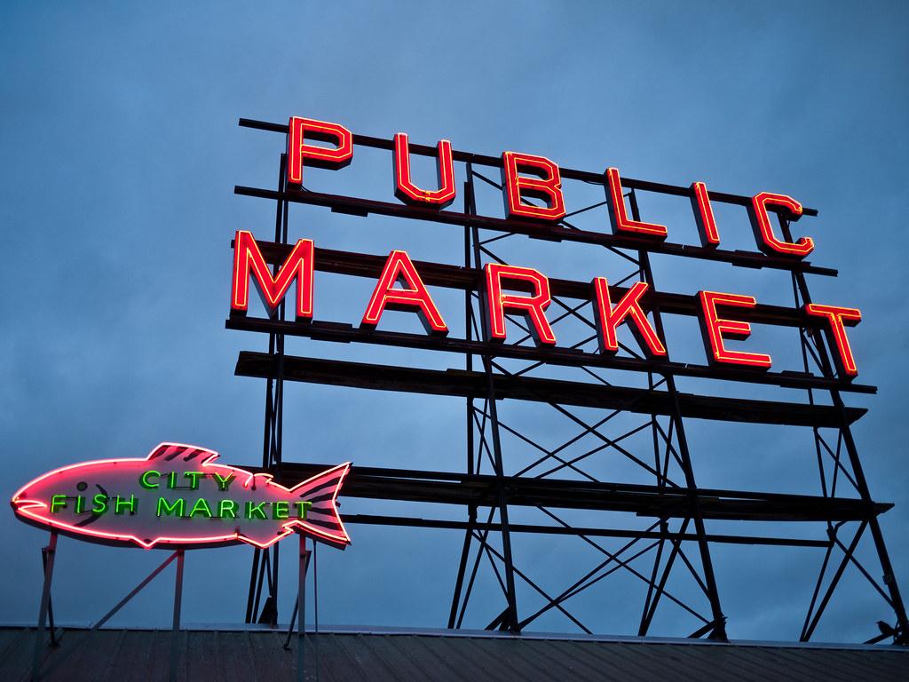 Public market city fish market seattle amy flickr for City fish market