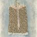 Pleated Skirt Printed Semi Sheer Chiffon With Vintage Ruffled Petticoat