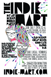 INDIE MART JULY FRONT FLIER FRONT FINAL | by indiemart