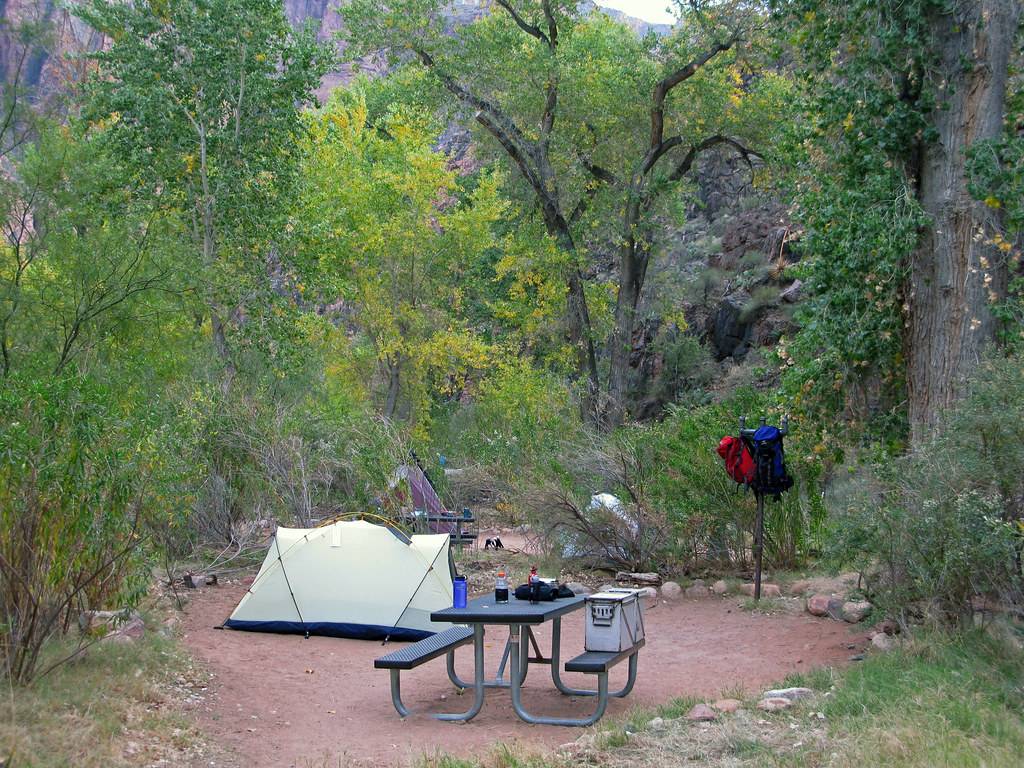 Grand Canyon Bright Angel Campground 0653 Cbg Is At
