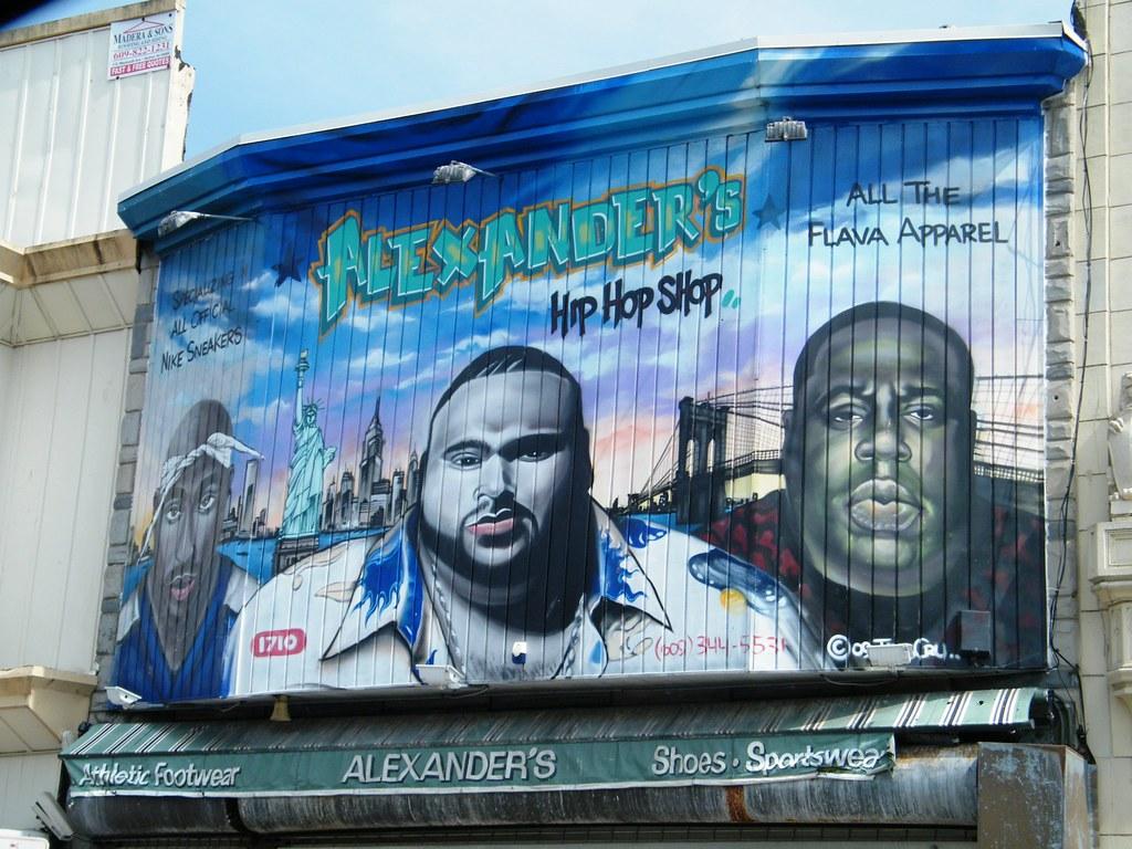 Atlantic city nj 2pac big pun biggie michael for Big pun mural bronx