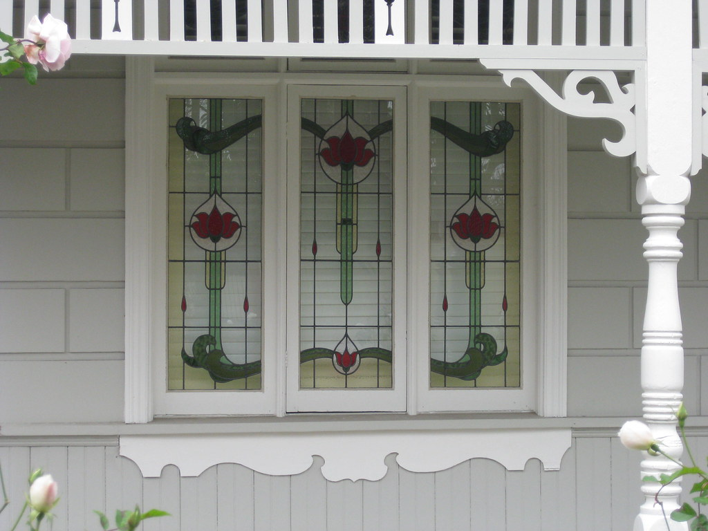 The stained glass windows of kaipoi a victorian block f for Victorian era windows